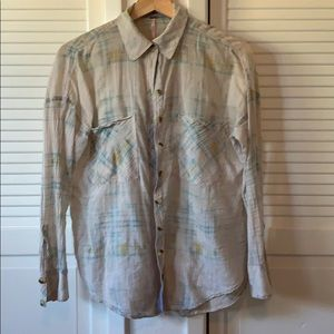 FREE PEOPLE loose button down